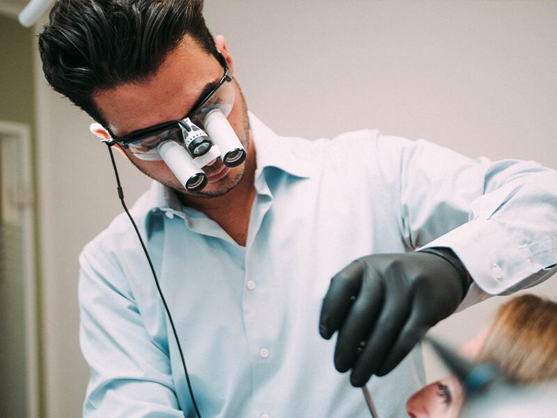 Dentalnord Ausstattung Lupenbrille