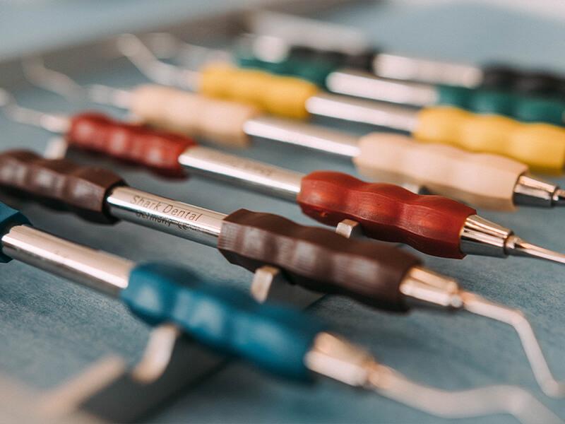 Dentalnord Ausstattung diverse Schaber